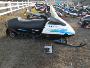 ISO 1989 Ski-Doo Formula MX Snowmobile parts