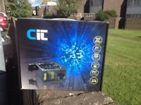 CiT 550W Power Supply Unit with PSU and Dual 12V Rails - Black