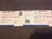 Bring me the horizon tickets