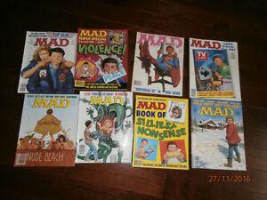 Mad magazines - Condition de très bonne à excellente