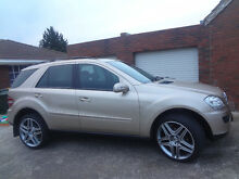 2005 Mercedes-Benz ML350 4x4 SUV 12MTHS REGO GOLD V6 Kings Park Brimbank Area Preview