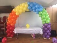 Balloon arch hire Table balloons Balloon decor Helium balloons in London area v