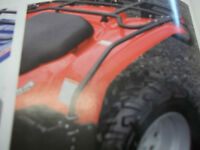 NEW set of fender protecters YAMAHA wolverine all years