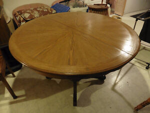 Solid Wood Round Table NO Chairs $60 obo