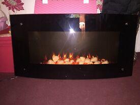 Wall mounted fan fire