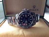 Mens Rolex Submariner Wrist Watch with Box
