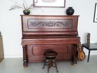 Beautiful Grand Upright Piano (Evans Bros.)