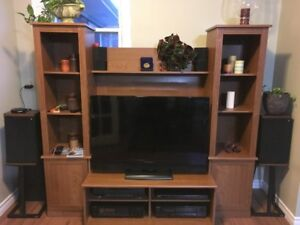 PRICE REDUCED! Roomy Entertainment Unit in Good Condition