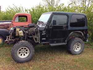 Parting out 1999 Jeep TJ