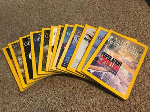 Free magazines - National Geographic 2011