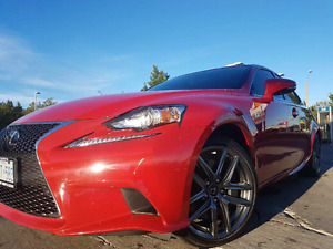 2016 Lexus IS300 Lease Takeover