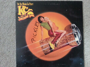 "'79 KC & SUNSHINE BAND ""Do You Wanna Go Party"" VINYL LP"