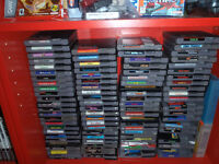 174 original nintendo and 91 n64 games and systems