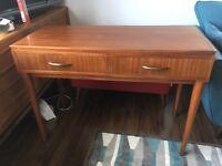 Mid century, retro, vintage, teak console table.