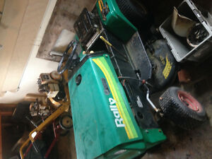 Looking to buy riding mowers dead or alive