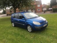 2005 Renault grand scenic 1.6 7 seater 65k