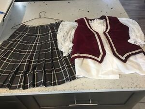 Traditional highland dance costumes youth