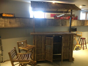 Bamboo tiki bar - Never Been Used, Price listed or Best Offer Belleville Belleville Area image 2