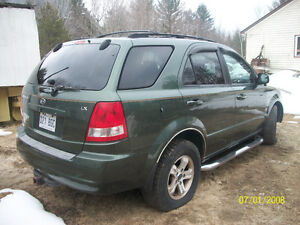 2003 Kia Sorento 4x4 SUV, Crossover   PARTS ONLY  COMPLETE