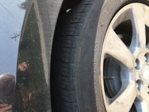 Michelin M/S winter tires