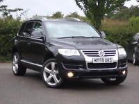 Volkswagen Touareg 3.0TDI V6 DPF auto 2009 Altitude Full Leather Satnav FSH