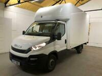 2017 Iveco Daily 35S14 S-A LUTON BOX TAIL-LIFT EURO 6