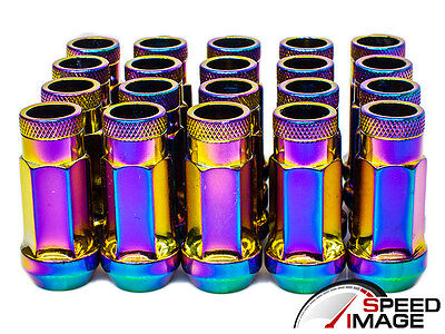 "20/"" 12X1.5 Aodhan XT92 SPIKED Lug Nuts BLUE Fit Lancer Evolution EVO 8 9 X"