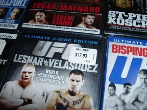 """15 UFC dvds ***BRAND NEW*** trade for 17"""" Rims and Tires London Ontario image 10"""