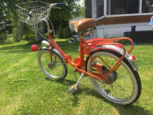 Vélo pliable vintage