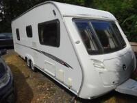 Swift Charisma 620 2008 4 Berth End Washroom Caravan For Sale