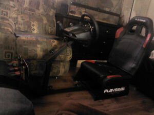logitech g27 avec playseat racing