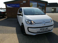 2012 Volkswagen up! 1.0 ( 60ps ) Take Up MANUAL PETROL NEW SERVICE LOW MIALGE