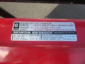 Honda EB2200X Generator Prince George British Columbia image 6