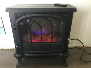 Duraflame  Electric Heater // Fireplace with remote. Reg. 209$+