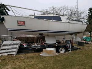 Free 24' Keel boat