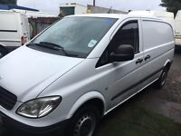 Mercedes Vito van twin sliding door