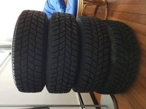 Hankook winter tires on rims