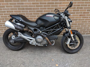 2013 ANNIVERSARY EDITION DUCATI MONSTER 696 ABS