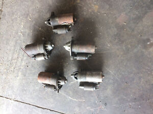 5 Ford Hi torque starters, 3, 302/351 and 2 4.6