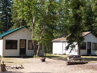 Wow! $500/wk Lakeside Holiday Cabins in Meadow Lake Prov. Park