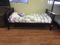 Single bed with matress