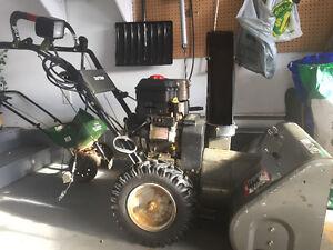 """Craftsman 30"""", 11.5 hp snowblower"""