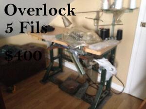 Machine à coudre Surjeteuse (Overlock)