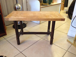 Petit Banc / Table **** Small Bench / Table