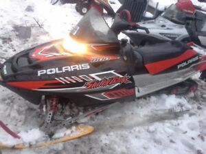parting out polaris twin sleds