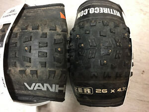 Fat Bike Tires - Studded