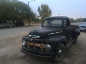1952 Ford F3, 3/4 ton