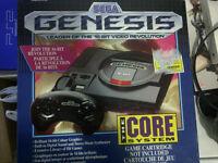 Sega Genesis Console Boxed Nice Looking