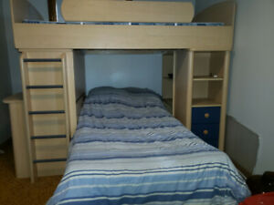 Bunk Bed With Desks Kijiji In Winnipeg Buy Sell Save With