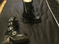 New rock boots new